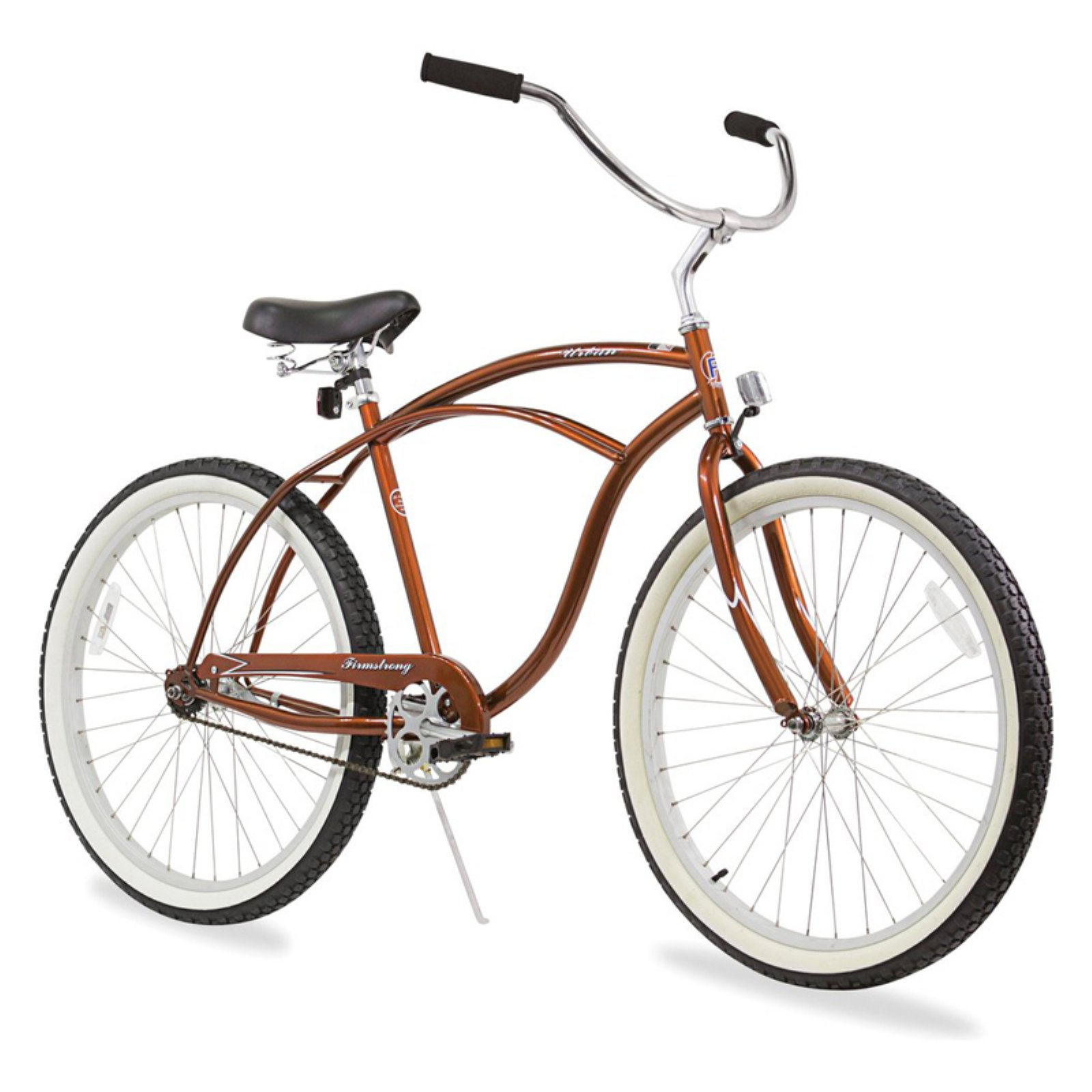 "Firmstrong 26"" Men's Urban Speed Beach Cruiser Bicycle, 1, 3 and 7 Speed"