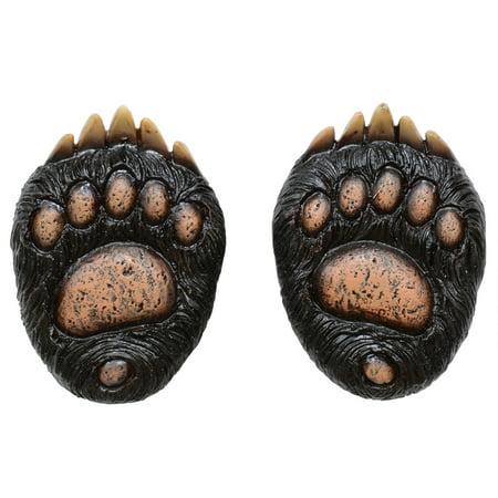 Bear Paw Resin Knob - Set of (Wash Bear Knob)