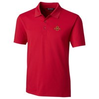 Iowa State Cyclones Cutter & Buck Forge Tailored Fit Polo - Red