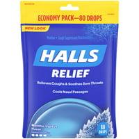 Halls Drops, Mentho-Lyptus, 80-Count Drops