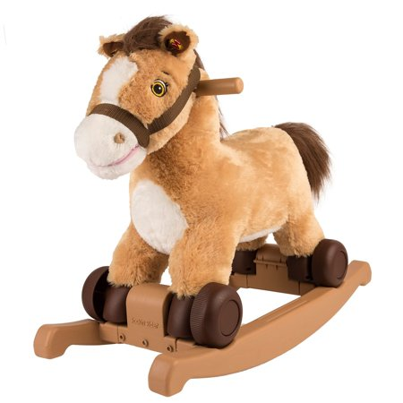Rockin' Rider 2-in-1 pony/unicorn Plush Ride-on