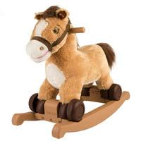 Rockin' Rider 2-in-1 pony/unicorn Plush Ride-on