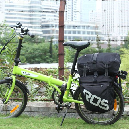 ROSWHEEL 3 in 1 Multifunction Road MTB Mountain Bike Bag Bicycle Pannier Rear Seat Trunk Bag