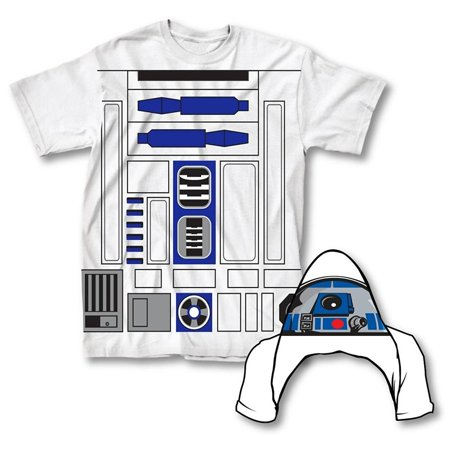 Star Wars I Am R2-D2 Mens Flip Costume Adult T-Shirt](Diy R2d2 Costume)