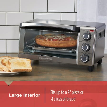 Best BLACK+DECKER Natural Convection Toaster Oven, Stainless Steel, TO1755SB deal