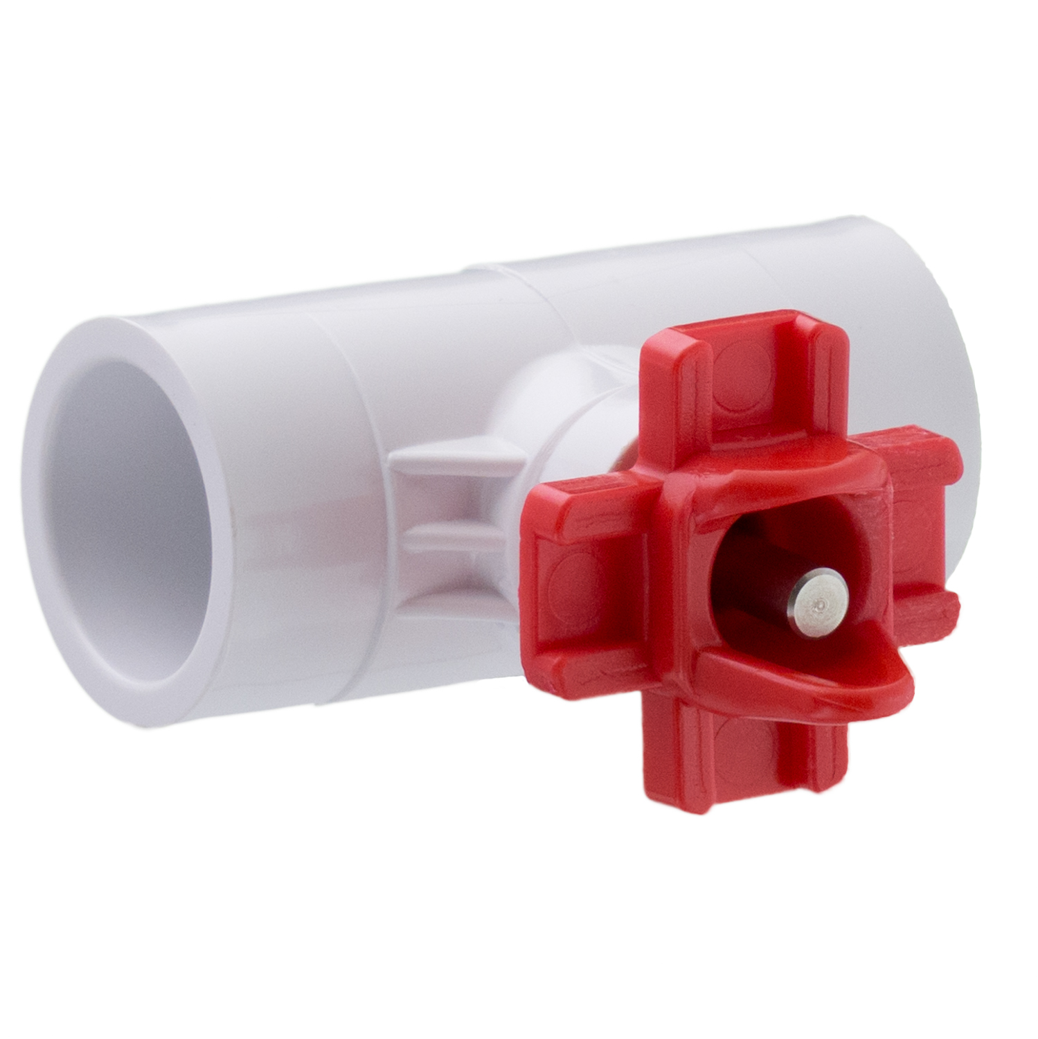 HORIZONTAL NIPPLE DRINKERS with TEE FITTINGS for Backyard Flock Automatic Poultry Watering System (5 Nipple Drinkers / 5 Tee Fittings)