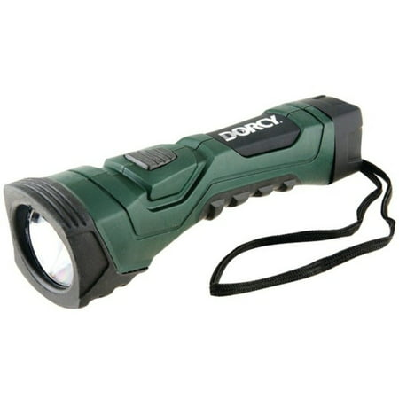 Dorcy 190-Lumen CyberLight Durable LED Flashlight with True Spot Reflector, Dark Green