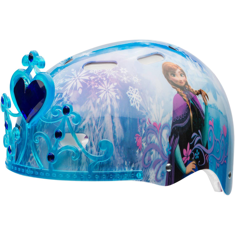 Disney Frozen 3D Tiara Child Multisport Helmet, Blue