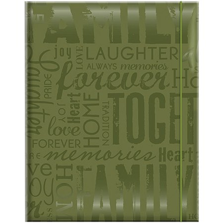 Embossed Gloss Expressions Photo Album, 4.75