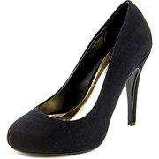 Thalia Sodi Chrissy Women  Round Toe Synthetic Black Heels