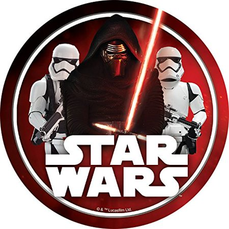 Star Wars Red Edible Frosting Image Cake Topper Sheet  - 8