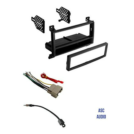 asc audio car stereo radio install dash kit wire harness. Black Bedroom Furniture Sets. Home Design Ideas