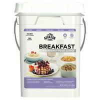 Augason Farms Breakfast Emergency Food Supply 4 Gallon Pail