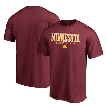 Minnesota Golden Gophers Fanatics Branded True Sport Hockey T-Shirt - (Minnesota Golden Gophers Set)