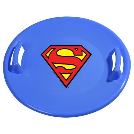 Superman Downhill Pro Saucer Disc Snow - Pro Sled