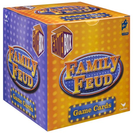 Family Feud Trivia Box Card Game (Christmas Trivia Fun For The Whole Family)