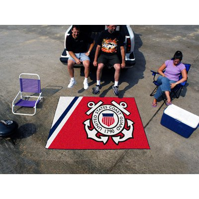 Fanmats Military 60 x 72 in. Tailgater Mat - Coast Guard Academy