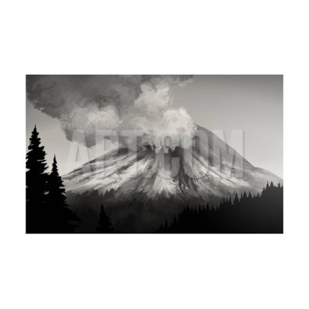 Mt. St. Helens Eruption Print Wall Art By (Type Of Eruption Of Mt St Helens)