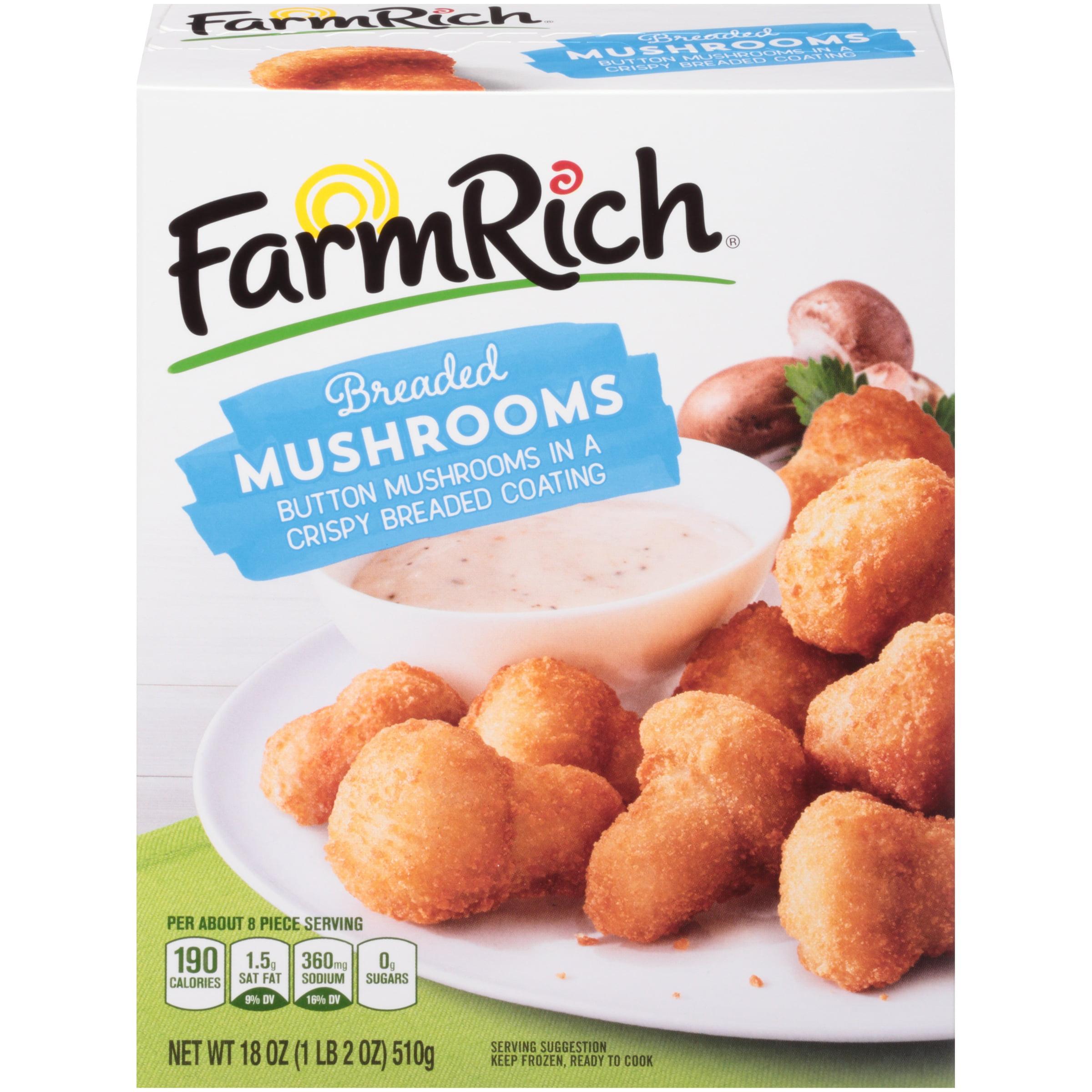 Farm Rich™ Breaded Mushrooms 18 oz. Box