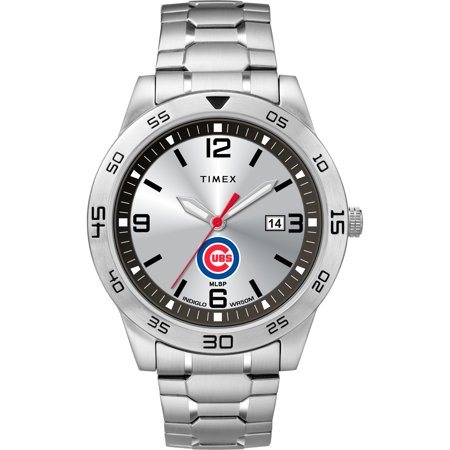 Chicago Cubs Timex Citation Watch - No Size (Watch Chicago Fire)