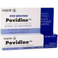 Major Povidone Iodine 10 % Generic for Betadine Ointment, 1 Oz.