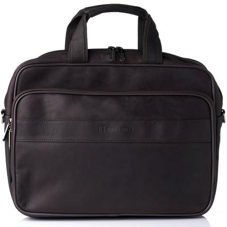Alpine Swiss Messenger Bag Leather 15.6 Laptop Briefcase Portfolio Business Case Business York Briefcase