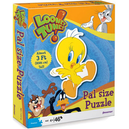 Tweety 46 Piece Pal Size Puzzle,  Puzzles by Pressman Toy Co.