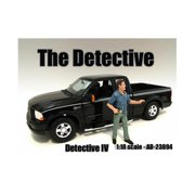 American Diorama 23894 The Detective No.4 Figure for 1-18 Scale Models
