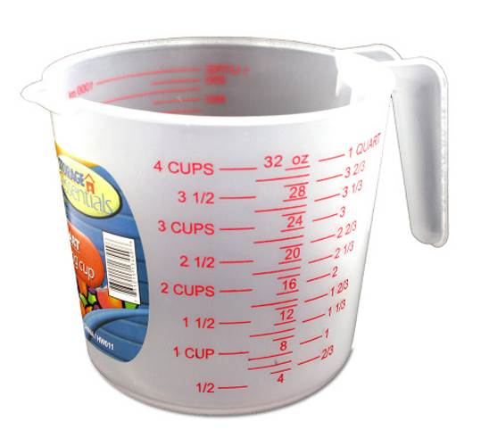 One Quart Measuring Cup - Set of 24