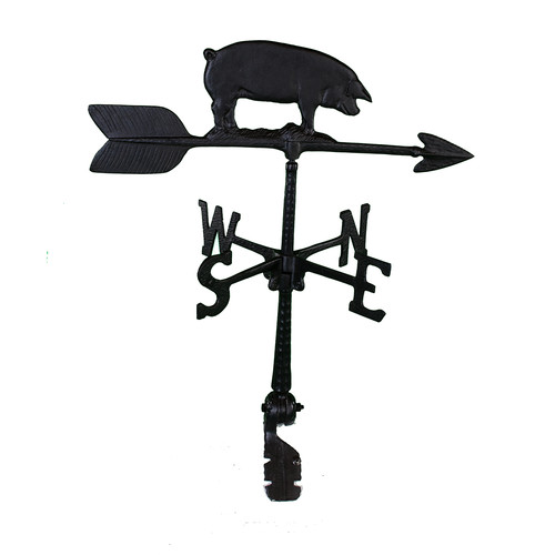 Montague Metal Products Inc. Pig Weathervane by Montague Metal Products Inc.