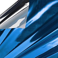 """100ea - 18"""" X 30"""" Blue/Silver Mylar Sheet - 0.80 mil Thick by Paper Mart"""