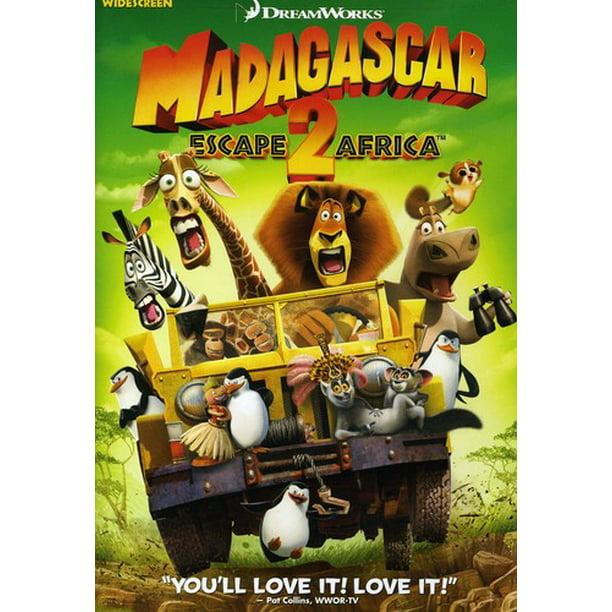 Madagascar Escape 2 Africa Dvd Walmart Com Walmart Com