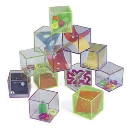 Glitter Cube Mind Teasers - Office Fun & Desktop Toys - Fun Office