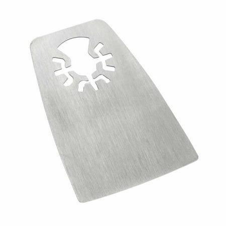 - Versa Tool MB1N 52mm Flat Cut Stainless Steel Scraper Fits Fein Multimaster, Dremel, Bosch, Craftsman, Ridgid Oscillating Tools