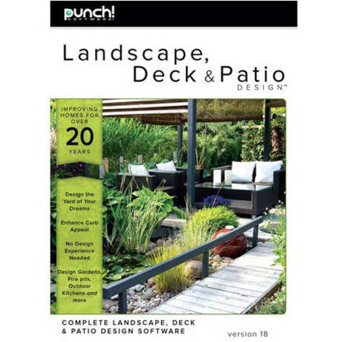 WD Encore 8129747 Punch Deck Patio Designer V18 (Email Delivery)