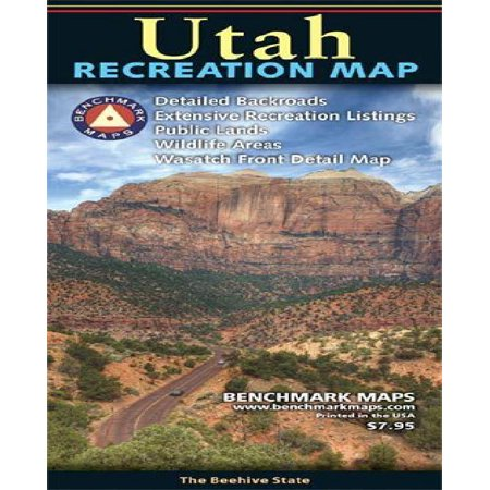 Utah Recreation Map (Topo Maps Utah)