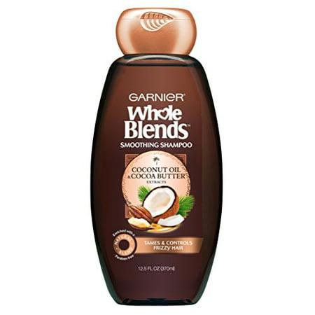 Garnier Whole Blends Shampoo with Coconut Oil & Cocoa Butter Extracts, 12.5 fl. (White Camellia Coconut Shampoo)