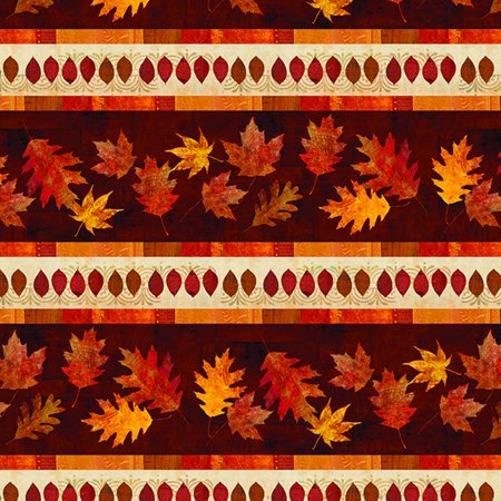 - Wilmington Prints Amber Reflections Multi Repeating Stripe