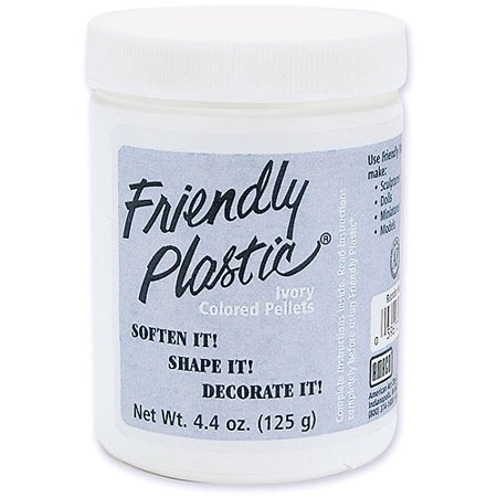 Friendly Plastic 4 4 Oz Jar