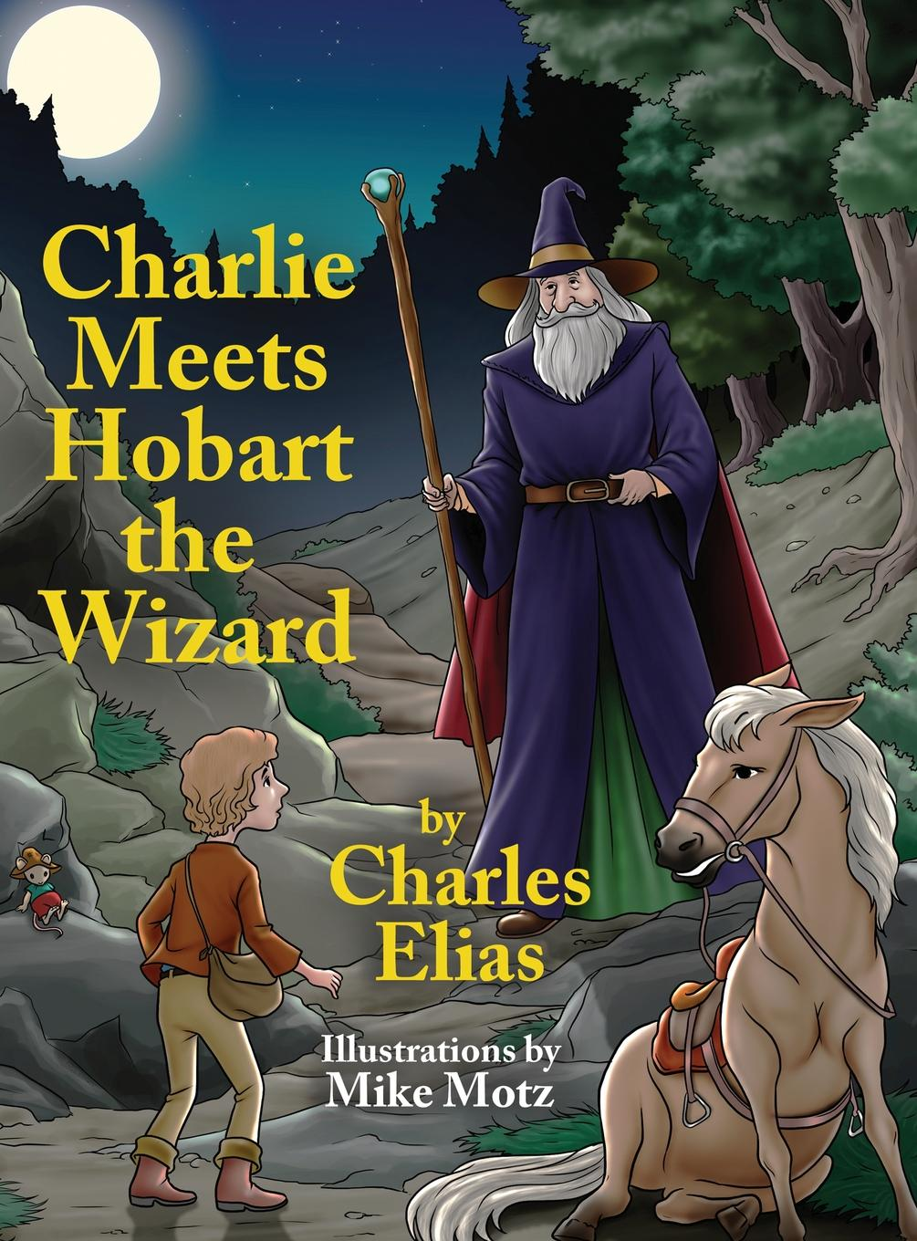 Charlie Meets Hobart the Wizard by Elias' Painting Company