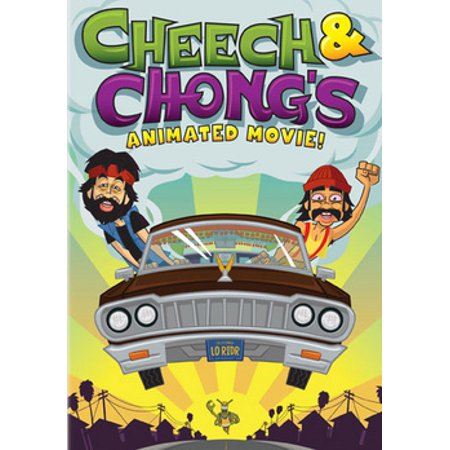 Cheech & Chong's Animated Movie (DVD) (Scary Animated Halloween Movies)
