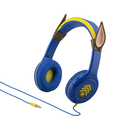 Chase Headphones With Ears Volume Limiting Headphones For Kids Dj Chase Is On The Case With These Cool New Paw Patrol Chase Headphones You Can