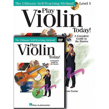 Play Violin Today! Beginner's Pack : Level 1 Book/CD/DVD Pack (Method Book 1 Violin)