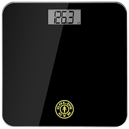 Gold's Gym Digital Tempered Glass Bathroom Body Weight Scale