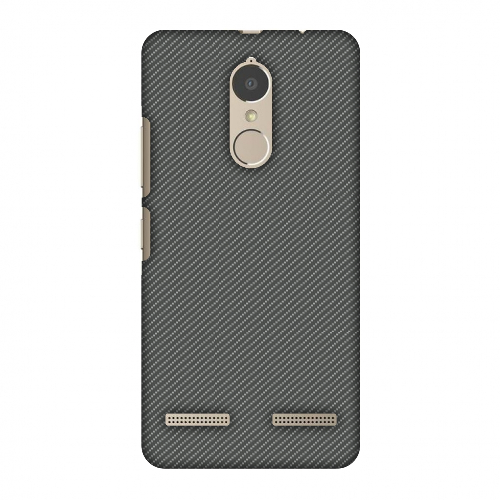 Lenovo K6 Power Case, Lenovo K6 Case - Neutral Grey Texture, Hard Plastic Back Cover. Slim Profile Cute Printed Designer Snap on Case with Screen Cleaning Kit