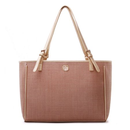 Ferrara Knit Designer Large Fashion Tote Satchel Shoulder Bag Purse for women ()