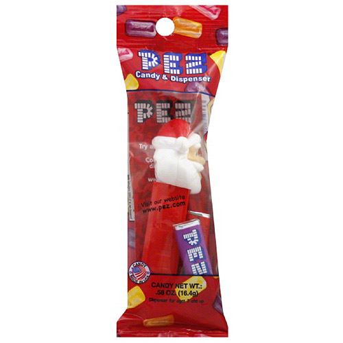 Pez Santa Claus Candy & Dispenser, 0.58 oz, (Pack of 12)