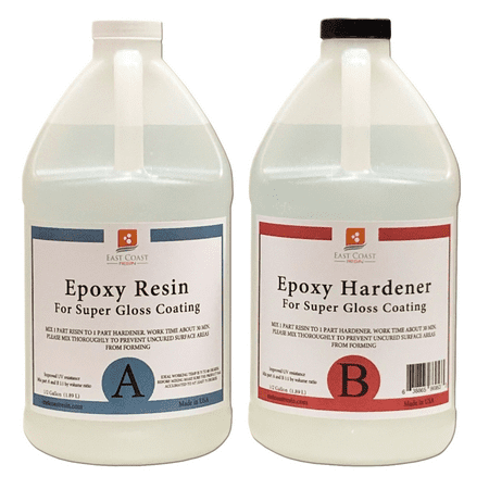EPOXY RESIN 1 Gal kit for Super Gloss Coating and Table - Circle Epoxy