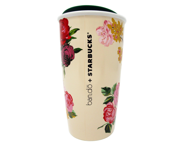 Starbucks do Floral Oz Holiday 12 Travel Ban 2018 Ceramic cRL3Aq54jS