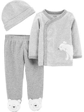 Child Of Mine By Carter's Take Me Home, 3pc Outfit Set (Baby Boys or Baby Girls, Unisex)